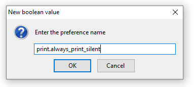Silent / Background Printing - Firefox - ShopTill-e com